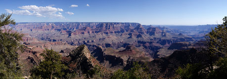 Grand Canyon sikt Arkivbilder