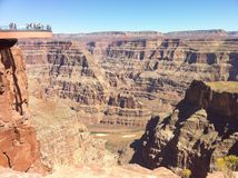 Grand Canyon Skywalk Royalty Free Stock Image
