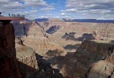 Grand Canyon Skywalk, Arizona, USA Arkivfoto