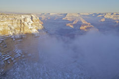 Grand Canyon  After Snow Stock Image