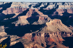 Grand Canyon snow capped Stock Photography