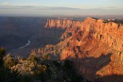 Grand Canyon am Sonnenuntergang Lizenzfreie Stockbilder