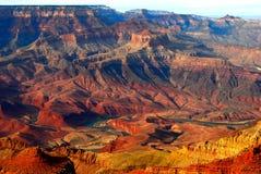 Grand Canyon am Sonnenuntergang Lizenzfreies Stockfoto