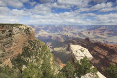 Grand Canyon from South Rim Royalty Free Stock Images