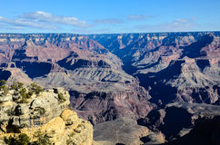 Grand Canyon South Rim in Arizona, US Stock Image
