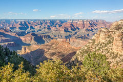Grand Canyon South Rim Landscape Royalty Free Stock Images