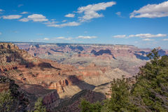 Grand Canyon South Rim Landscape Royalty Free Stock Photography