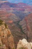 Grand Canyon South Rim Scenic Royalty Free Stock Photo
