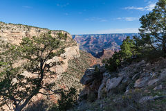 Grand Canyon South Rim Scenic Stock Photo