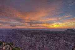 Grand Canyon South Rim Sunrise Stock Photography