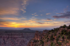 Grand Canyon South Rim Sunrise Royalty Free Stock Image