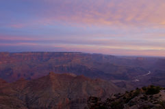 Grand Canyon South Rim Sunrise Royalty Free Stock Photography