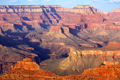 Grand Canyon. South Rim Grand Canyon before sunset, Arizona, US stock photography