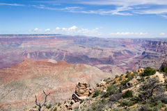 Grand Canyon South Rim. Viewpoint in Grand Canyon South Rim. Beautifull look Stock Photo