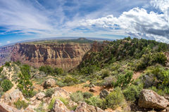 Grand Canyon South Rim. Viewpoint in Grand Canyon South Rim. Beautifull look Royalty Free Stock Photography