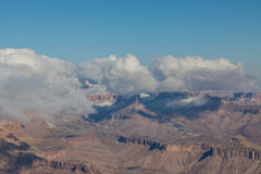 Grand Canyon South Rim Winter Royalty Free Stock Photography