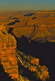 Grand Canyon Splendor. An early morning view of the Grand Canyon Stock Photo