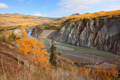 Grand Canyon of Stikine River. In Northern British Columbia Royalty Free Stock Photos
