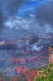 Grand Canyon Storm Royalty Free Stock Photo