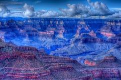 Grand Canyon Storm. Storm forming over the Grand Canyon, Arizona, USA royalty free stock photography