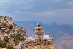 Grand Canyon Storm Royalty Free Stock Photography