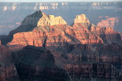 Grand Canyon Sun Stock Photography