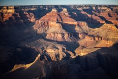 The Grand Canyon. On a sunny day Stock Photo