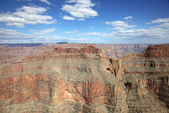Grand canyon in sunny day Stock Photography