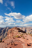 Grand canyon in sunny day Royalty Free Stock Photo