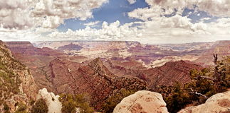 Grand Canyon during sunny day Stock Image