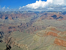 Grand canyon in sunny day, mountains diversity, Royalty Free Stock Images
