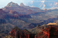 The Grand Canyon at Sunrise Stock Photography