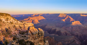 Grand Canyon Sunrise from Mather Point Royalty Free Stock Image