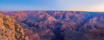 Grand Canyon Sunrise from Mather Point. Amazing Sunrise Image of the Grand Canyon taken from Mather Point royalty free stock image