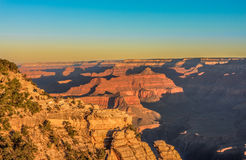 Grand Canyon Sunrise from Mather Point Stock Images