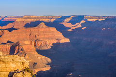 Grand Canyon Sunrise from Mather Point Stock Image