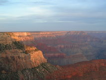 Grand Canyon Sunrise. At Sunrise from Hoppe Point Looking Southwest Royalty Free Stock Photography
