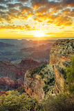 Grand Canyon at sunrise Royalty Free Stock Photos
