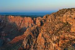 Grand Canyon at sunset Stock Photos