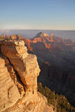 The Grand Canyon, a sunset Royalty Free Stock Images