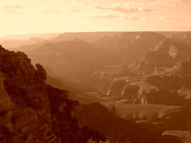 Grand Canyon sunset Royalty Free Stock Photo