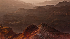 Grand Canyon Sunset Stock Photo