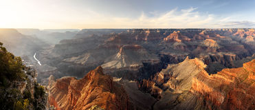 Grand Canyon, Sunset Royalty Free Stock Photography