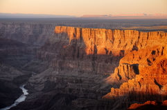 Grand Canyon Sunset Stock Image