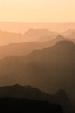 The Grand Canyon. Sunset at the Grand Canyon Stock Photography