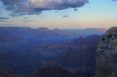 Grand Canyon Sunset. Grand Canyon Valley Sunset View, Arizona Royalty Free Stock Photo