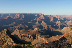 Grand Canyon sunset. A contrasty look at the Grand Canyon near sunset Royalty Free Stock Photos