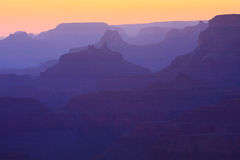 Grand Canyon Sunset Royalty Free Stock Image