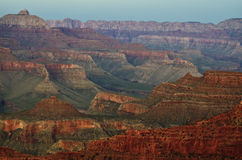 The Grand Canyon at Sunset, Arizona Royalty Free Stock Photos