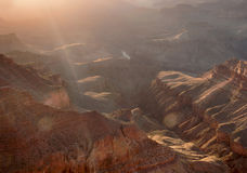 Grand Canyon Sunset, Arizona Royalty Free Stock Photography